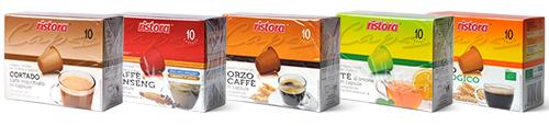 Capsule e Cialde Ristora per Nespresso