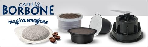 Capsule e cialde caffè borbone
