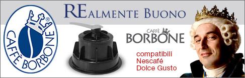 Capsule Caffè Borbone compatibili Nescafé Dolce Gusto