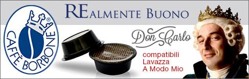 cialde caffè borbone compatibili Lavazza A Modo Mio