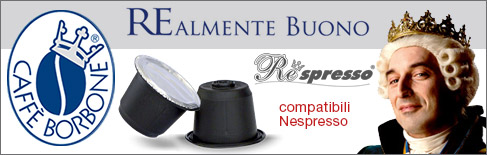 Capsule caffè borbone compatibili Nespresso
