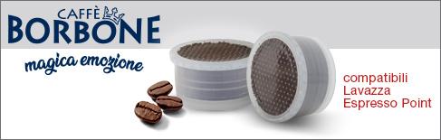 Capsule caffè borbone compatibili Lavazza Point