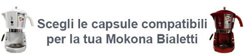 Scegli le capsule per la tua mokona