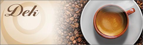 Capsule e Cialde Caffè Decaffeinato