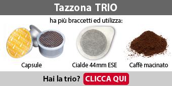 Capsule e Cialde Mokissima Trio Bialetti