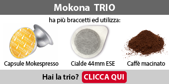 Capsule e cialde Bialetti Mokona Trio