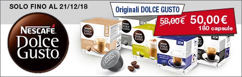 Capsule originali e compatibili Nescafé Dolce Gusto