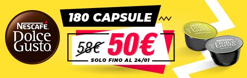 Offerta su capsule originali Nescafé Dolce Gusto
