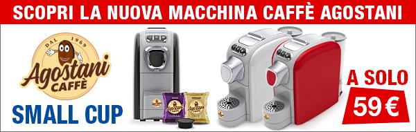 Nuova Macchina Caffè Small Cup Agostani