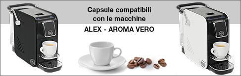 Capsule compatibili Aroma Vero Alex