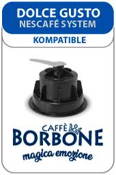 Visualizza i prodotti della categoria Caffè Borbone capsule compatibili Nescafé Dolce Gusto
