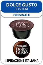 Visualizza i prodotti della categoria Nescafé Dolce Gusto gamma Ispirazione Italiana