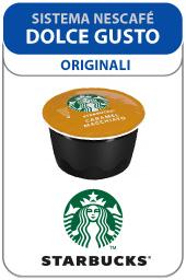 Visualizza i prodotti della categoria Caffè Starbucks capsule compatibili Nescafé Dolce Gusto