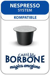 Visualizza i prodotti della categoria Cialde e Capsule compatibili Nespresso: Caffè Borbone