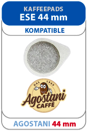Agostani Kaffeepads ESE 44 mm für espressomaschine