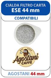 Cialde filtrocarta Agostani 44 mm ESE