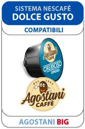 Capsule Agostani Big per Sistema Nescafé Dolce Gusto