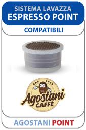 Capsule Agostani Point per Sistema Lavazza Espresso Point