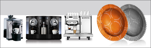 Cialde compatibili Nespresso Professional