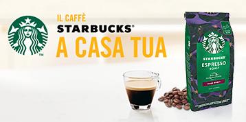 Caffè Starbucks in grani chicchi