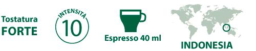 Caratteristiche Sumatra STARBUCKS Nespresso