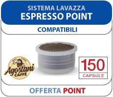 Offerta Lancio Compatibile Lavazza Espresso Point