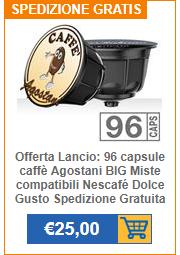 Offerta capsule compatibili Nescafé Dolce Gusto