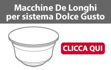 Macchina caffè DeLonghi capsule Nescafè Dolce Gusto