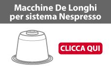 Macchina caffè DeLonghi caspule Nespresso