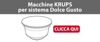 Macchine Krups per sistema Dolce Gusto