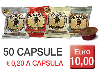 Cialde Caffè Agostani Small compatibili Lavazza A Modo Mio