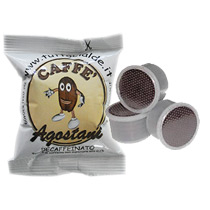 100 Cialde caffè Agostani miscela Decaffeinato compatibili Lavazza Espresso Point
