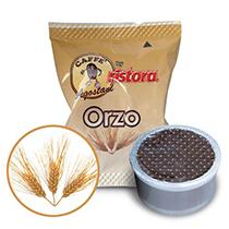 50 Cialde ORZO caffè Agostani by Ristora compatibili Lavazza Espresso Point