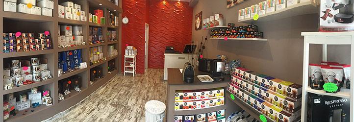 Apertura negozio caffè capsule